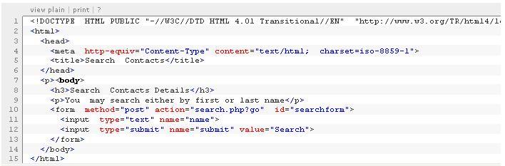 PHP syntax formatting - Typo3
