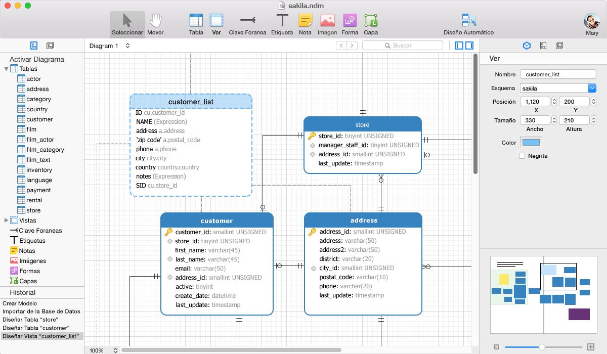 Qué Es Es Navicat Data Modeler