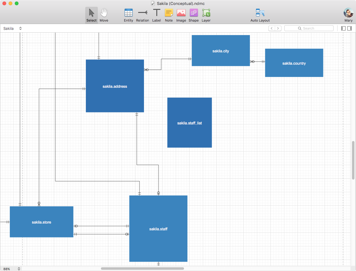 data model tools for mac