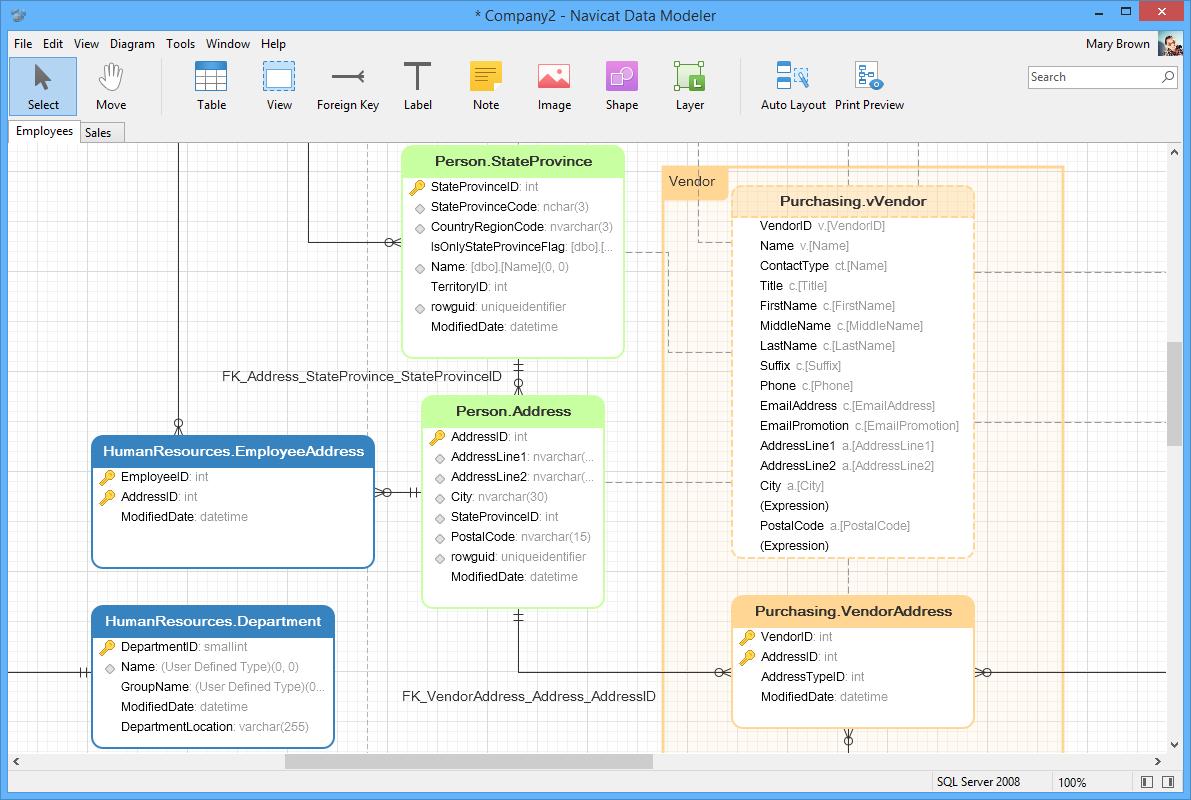 Navicat Data Modeler | Supreme Database Modeling and Design Tool