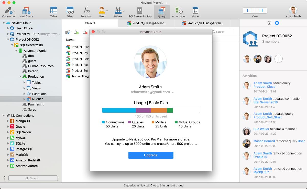 Navicat Premium for Mac 12.0.23 破解版 – Mac上最强大的数据库客户端-爱情守望者
